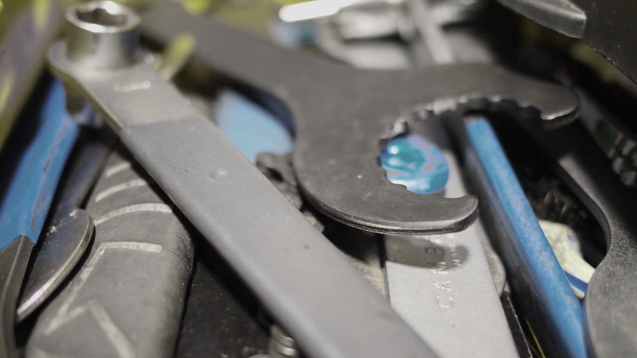 Werkzeug für Fahrrad Service und Reparatur