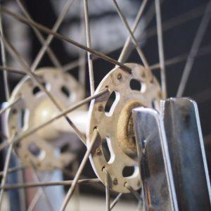 Peugeot PX 50 Hub restauration Restaurierung